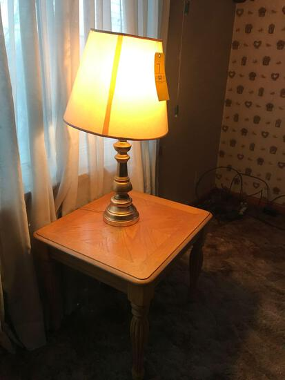Two lamp tables