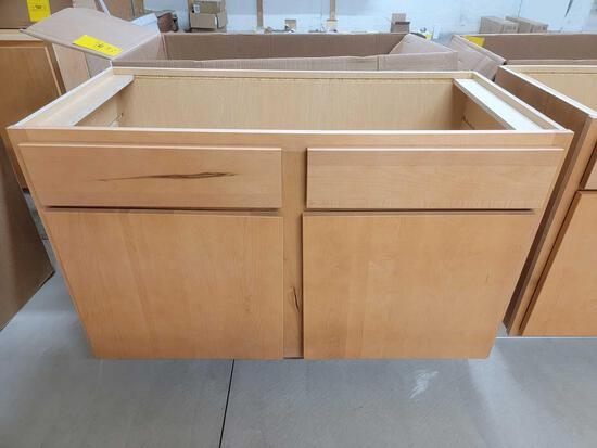 Two-Door Bathroom Cabinet