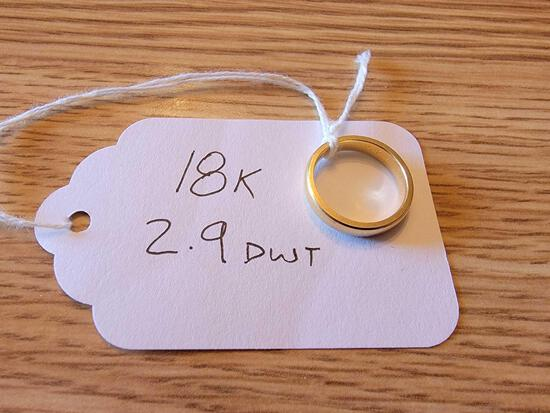 Ring Marked 18K