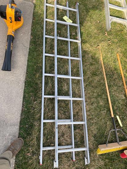 Werner aluminum ext ladder