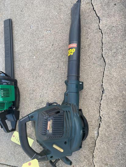 Craftsman gas blower