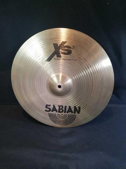 Sabian Xs20 medium thin crash 16inch cymbal