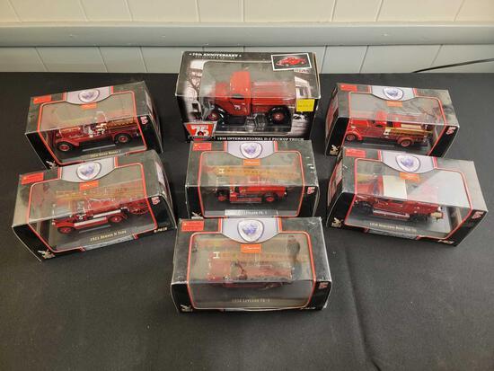 (6) Signature Series Fire Trucks