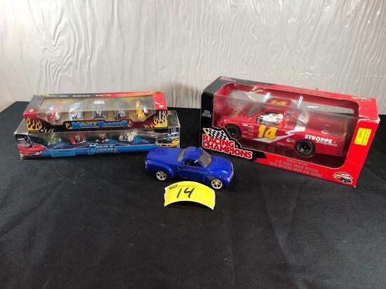 Racing Champions 1/18 Craftsman Truck, Muscle Machines Die-Cast Cars