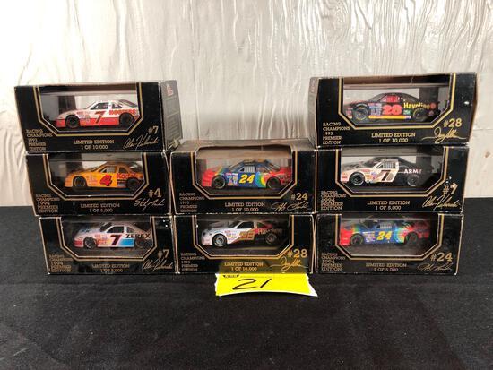 Racing Champions Die-Cast Racecars