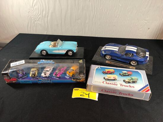 Die-Cast Model Cars, Muscle Machines Cars, Die-Cast Classic Trucks