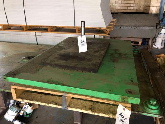 1.5-inch steel plate