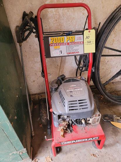 Generac 2000 PSI Pressure Washer