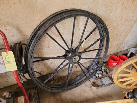 Plastic Cannon Wheels