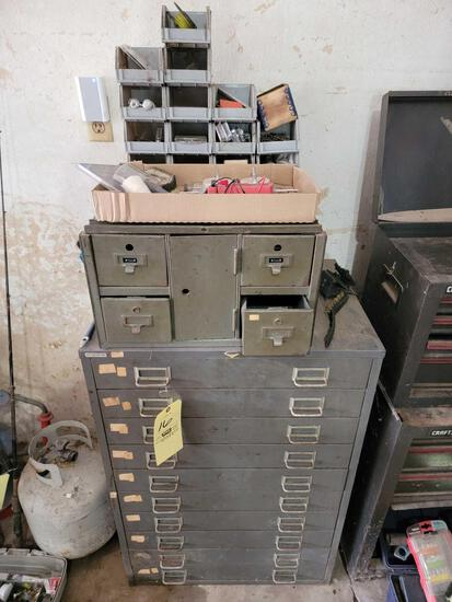Organizer Cabinets and Contents, Hardware