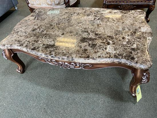 Acme Coffee Table Marble Top