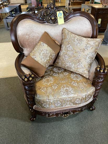 Acme Oversized Upholstered Chair