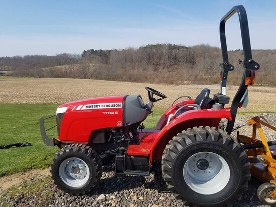 Tractor - 3 Pt. Mower - Antiques - 17240 Rudy