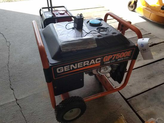 Generac 005943-0 7500watt generator