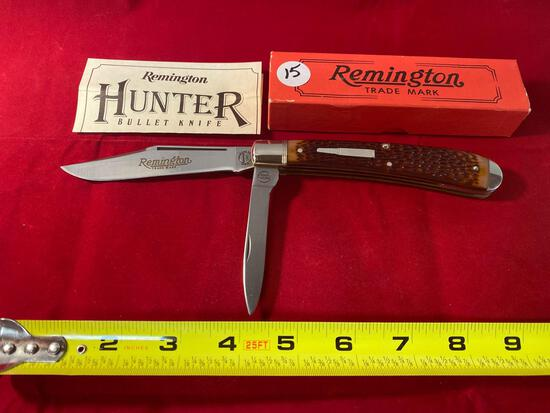 1986 Remington Hunter #R-1263 bullet knife.