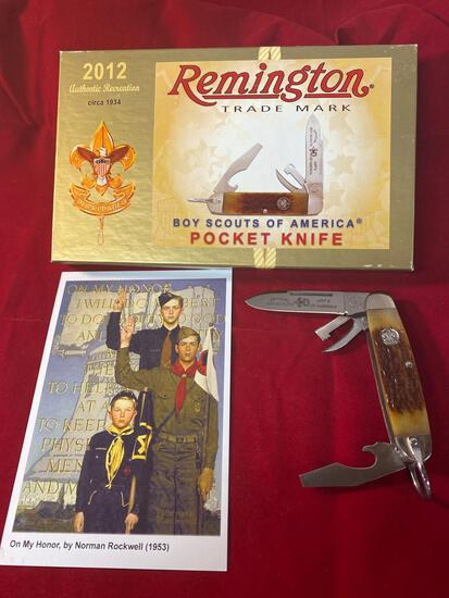 2012 Remington Boy Scouts of America #RS4783 R7A knife.