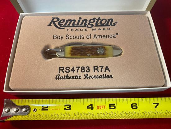 2012 Remington Boy Scouts of America #RS4783 R7A knife