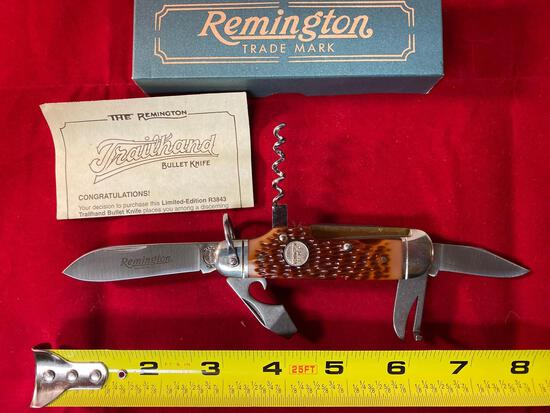 1996 Remington Trailhand #R-3843 bullet knife.