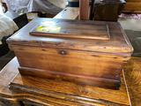 Small child or doll size trunk 19 inches long
