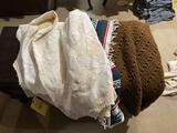 Bed spread, afghans