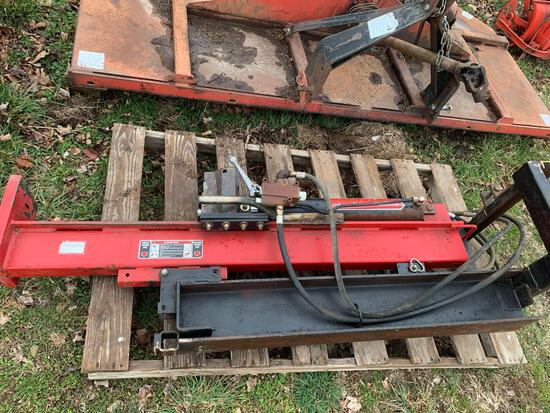 3pt. Swisher LS3P hyd. log splitter, tilt