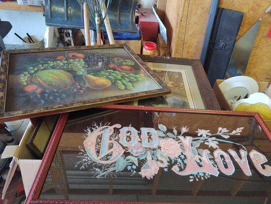 Assorted Prints....some framed