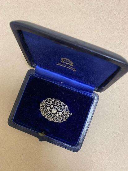 Mario Buccellati diamond brooch