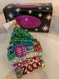 Christopher Radko Christmas Tree 2000 ornament
