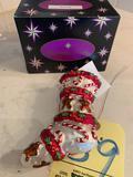 Christopher Radko Stocking ornament