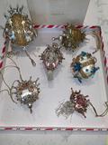 Jeweled ornaments (6)