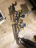 8 clamps