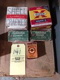 Partial ammo boxes, collectible boxes