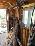 Yard tools and T-posts