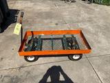 Metal frame cart