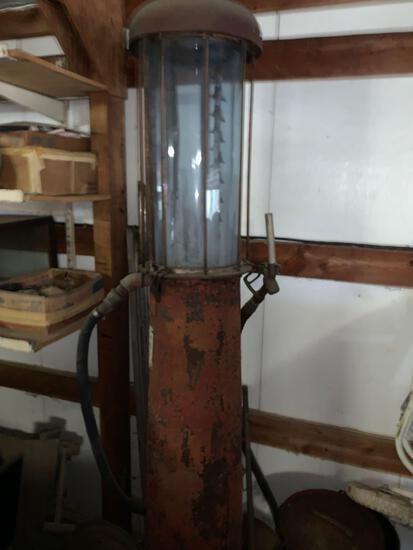 Vintage South West Pump gas Pump