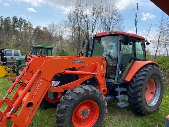 Kubota MX135 tractor with LA2253 loader