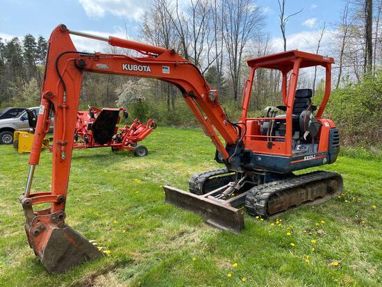 Kubota KX121-2 excavator super series