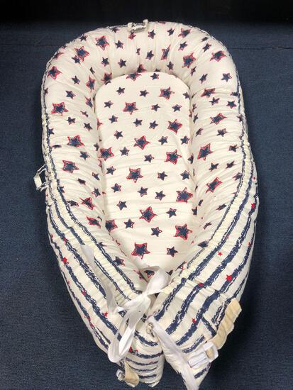 Newborn baby nest, new, Star pattern