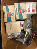 Box of fuel pumps