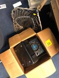Lowrance fish finder and 2 nets
