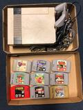 Nintendo game system and games