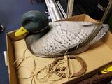 JC Higgins life like decoy duck