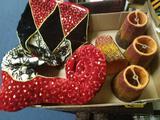 Stocking and lamp shades