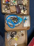 3 flats costume jewelry