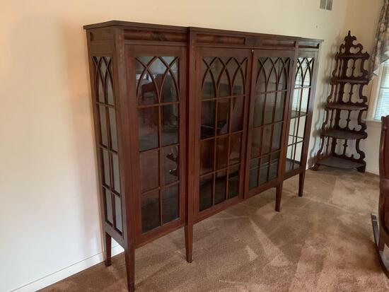 Glass-front cabinet