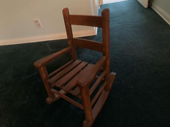 (2) Early Toddler/Doll Rocking chairs