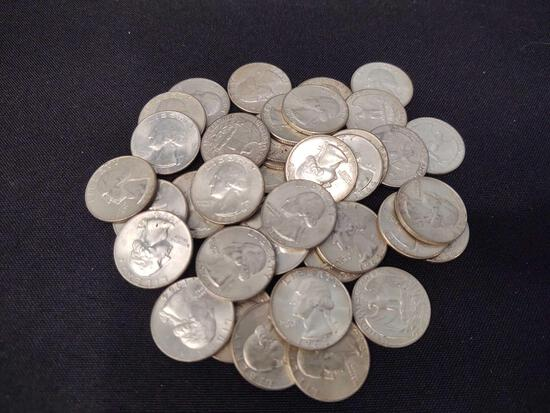 1964 Silver Washington Quarters