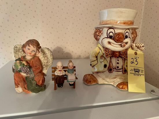 Cookie jar - figurines