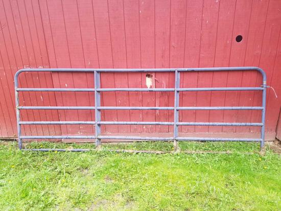 Grey 11.6ft gate
