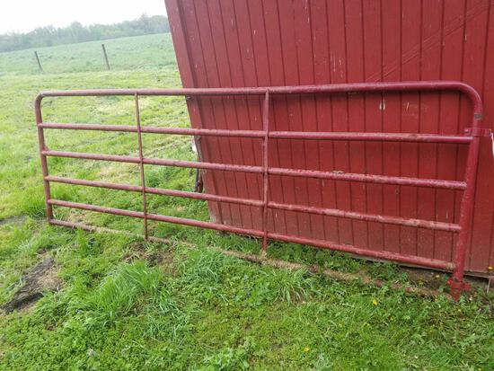 Red 11.6ft gate
